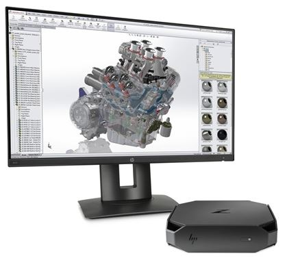 hp workstation Z2mini hardware CAD