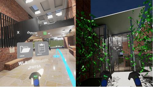 Dimostrazione in Realtà Virtuale per il centro delle Arti di Grayfriars