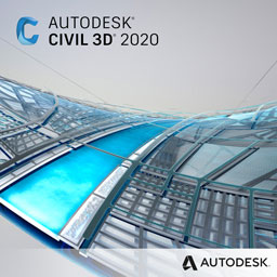 civil 3d 2020 badge 256px opt