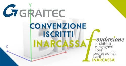 Nuova convenzione software BIM per i professionisti iscritti ad Inarcassa