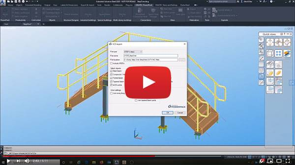 Advance-steel-to-inventor-step-iges-video