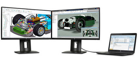 HP Z Displays for CAD